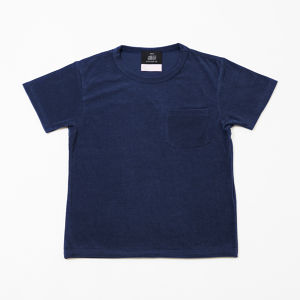 EACHTIME. x KONCOS PILE TEE [Navy]