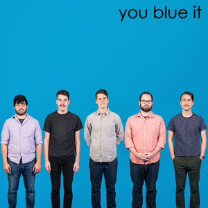 "you blew it! / self titled 10"" on BLUE vinyl"