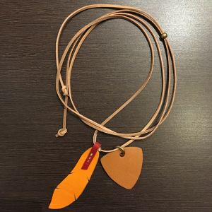 EFFECTEN/エフェクテン feather&pick necklace