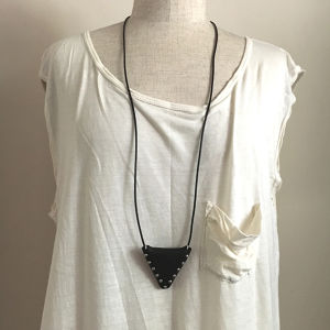 pouch-necklace  V / black