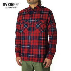 003029001(VINTAGE CHECK SHIRTS)RED