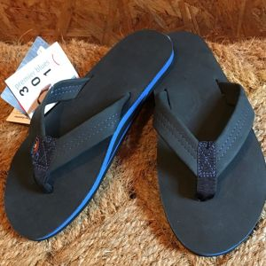 Rainbow Sandals*Premier Blue-Single Layer Black