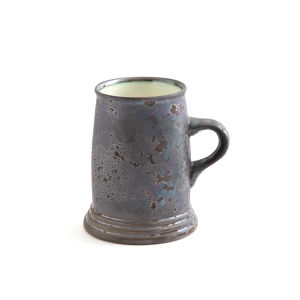 ONE KILN CERAMICS(ワンキルンセラミックス)/Mug Cup High Ash×White