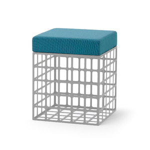 【Fe-C-003_Grid Box Cushion C】