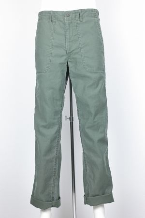 Wide Army Pants アーミーコード 462004 col.48 Militaly Green
