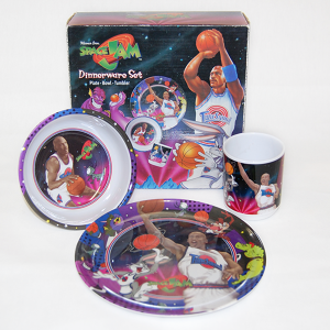 """Space Jam Dinnerware Set"" Vintage"