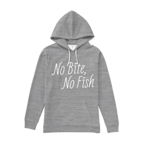 BURITSU NO BITE, NO FISH PullOver : Gray