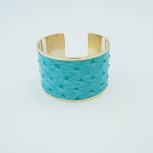 再入荷ostrich leather bangle