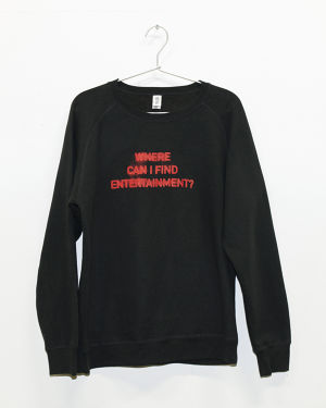 Where can I find ENTERTAINMENT?(ENTERTAINMENTはどこでやっていますか?)