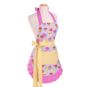 Flirty Aprons レディースエプロン Original Frosted Cupcake