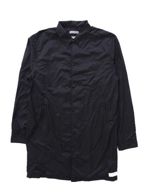 NYLON COAT  BLACK