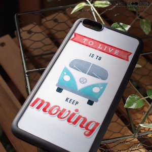 iPhone6Plus / iPhone6s Plusケース [I6PRKM01] VW BUS KEEP MOVING