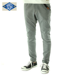 017007004(FLEXIBLE EDGED PANTS)GRAY
