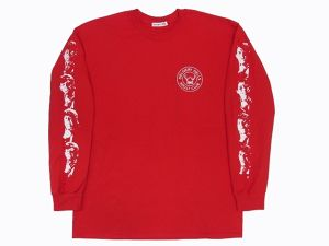 """""""DELIHELL"""" L/S Tee  RED"""
