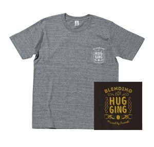 DJ FUNNEL 「Blending For Hugging」CD + Pocket T-shirts(Gray)