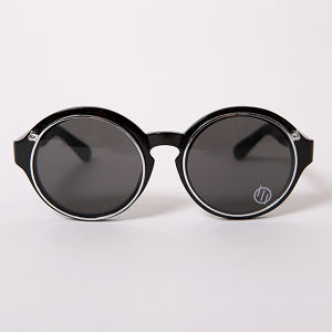 【SILLENT FROM ME】ICHABOD -SUNGLASS- | BLACK