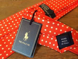 Ralph Lauren★【Tie】<SILK>MADE IN ITALY
