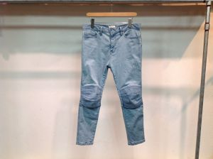 "WHOWHAT""KOBURA DENIM LIGHT BLUE"""