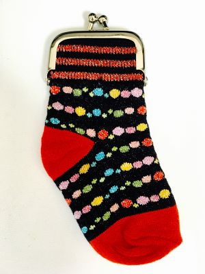 socks pouch jewelry