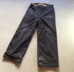 1940s- vintage BODY GUARD Fireman pants