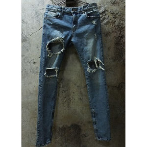 DAMAGED DENIM