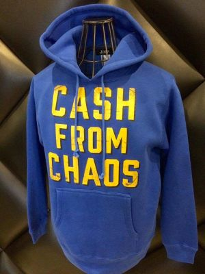 CASH FROM CHAOS PULL OVER PARKA col.blue