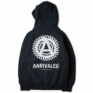 "ANRIVALED by UNRIVALED ""CA-ZIP PARKA"" BLACK"
