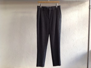 "40%OFF EDWINA HORL ""WOOL DOBBY WEAVE SLACKS GRAY"""