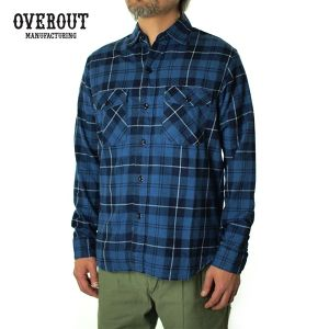 003029001(VINTAGE CHECK SHIRTS)BLUE