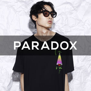 "PARADOX - CAPSULE Collection ""U.F.O"" - 03(BLACK)"