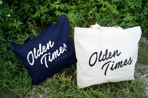 OLDEN LOGO COTTON TOTE BAG