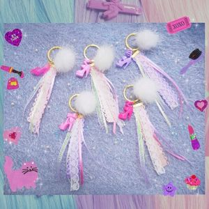 ♡Barbie Keychain♡