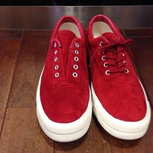 RFW / アールエフダブリュー   TACO SUEDE - Red