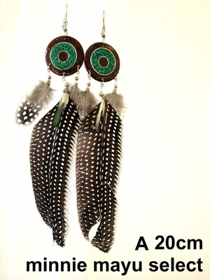 【SALE】Wings Earrings with Turquoise
