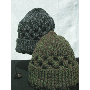 Pole Pole Men 16615 Wool Hand-knit Watch-cap ウール手編みワッチキャップ