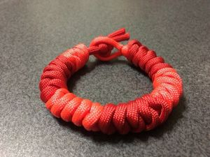 Mystic Snake Knot 2色つゆ結び
