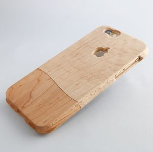 for iPhone 6/6S ウッドケース 木肌