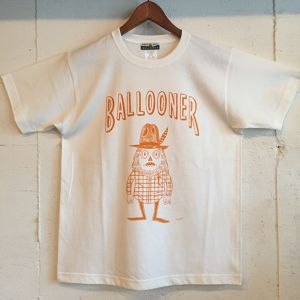 BALLOONER TEE   OFF White/Orange ★再入荷★