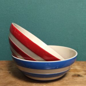 Cornish Ware Cereal Bowls 17cm