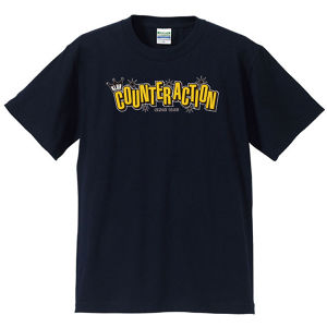 KLUB COUNTER ACITON OFFICIAL T-SHIRT : 2(黒ボディー)