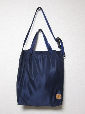 A WAGON SHOP : MA-1 2WAY TOTE<Navy>