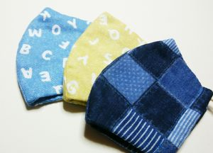 Ms.Beans!のガーゼマスク/ Cotton double gauze mask by Ms.Beans!