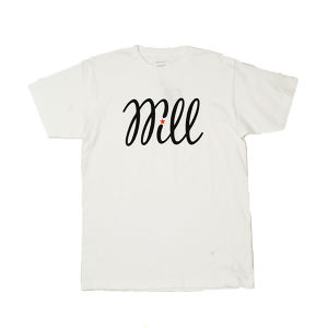 WILL BASIC LOGO TEE (WHITE)