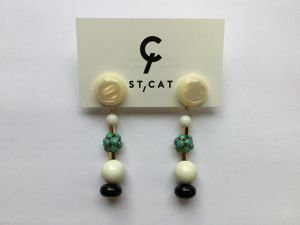 "ST,CAT "" Earring """