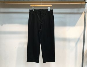 "CURLY""ADVANCE WIDE TROUSERS BLACK"""