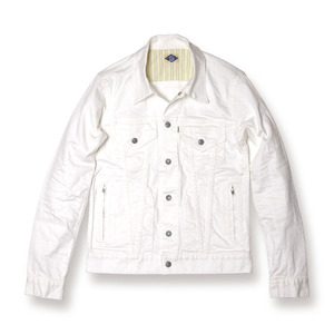 013002001(STRETCH G-JACKET)WHITE