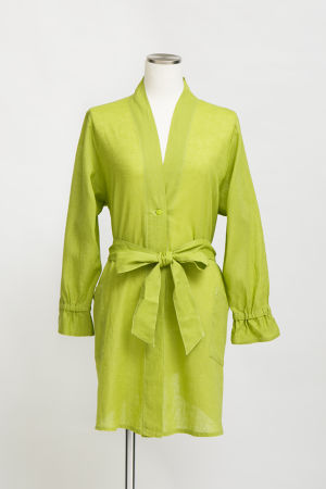 KYASHA-COTTON&LINEN-/Greenish Yellow(TT1919-32)