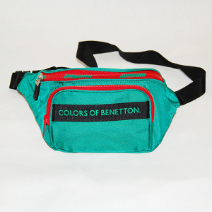 """Benetton"" Vintage Pouch Used"