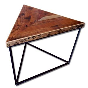 "Reclaimed Table ""Tritop"" -Chevron-"
