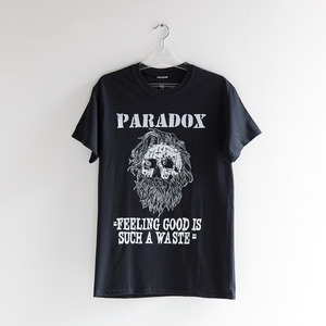 "- PARADOX - Art Show ""Limited"" tee Size S (Black)"